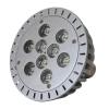 Lâmpada LED E27 PAR38 9X1W
